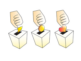 Vote, Paid and Donation