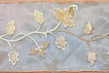 Foliage needlework poster