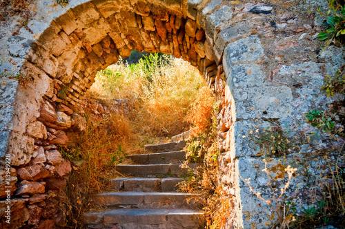 Stairways to the Palamidi fortress, Nafplio