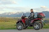 Fototapety Quadfahren in den Allgäuer Bergen