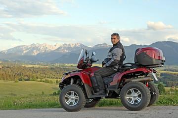 Quadfahren in den Allgäuer Bergen