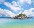 island and beautiful tropical sea