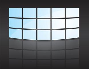 mur d'images - écrans de télévision