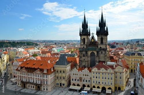 Papiers peints Prague Eglise de Tyn dans Prague