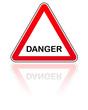 panneau attention danger
