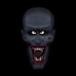 Evil vampire messy eater