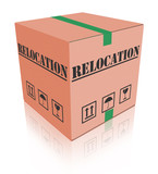 relocation box poster