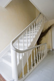 Staircase With Curved Handrail poster