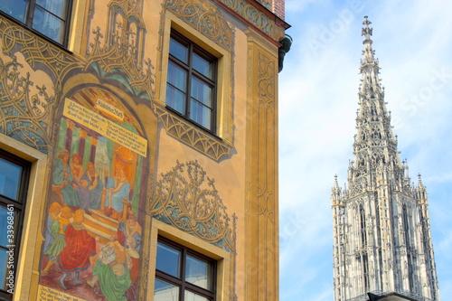 Ulmer Rathaus und Münster