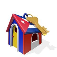 CONSEGNA CHIAVI DI CASA CUBA