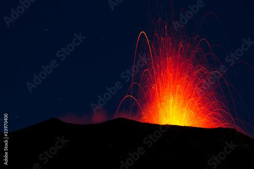 volcano eruption - 33970400