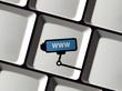 Überwachungskamera auf Tastatur