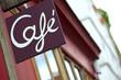 Café, bistrot, france, enseigne, commerce, bar, restaurant