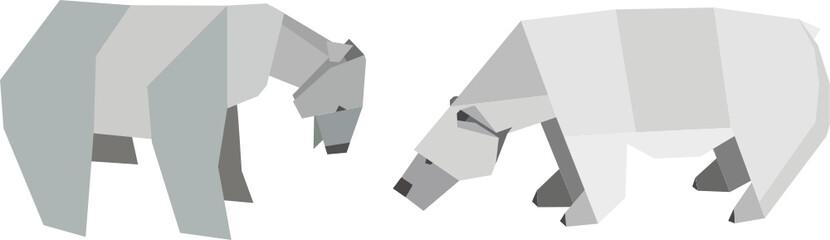 Eisbären - Origami