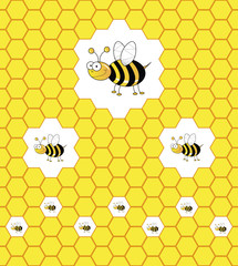 Hierarchy of worker bees
