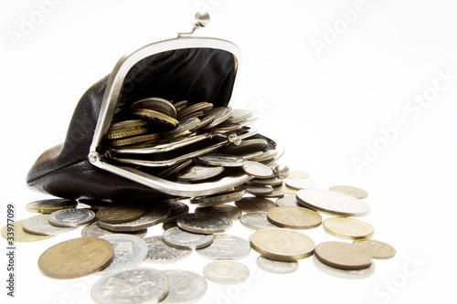 コインと財布