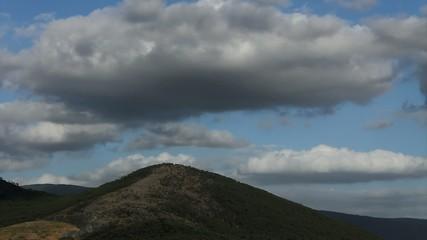 nuvole montagna