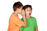 Two children told gossip
