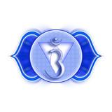 Mandala Chakra Ajna poster