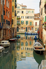 Italy,Venice rio of Sansa