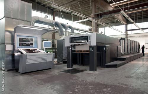 Press printing - Offset machine - 33983894