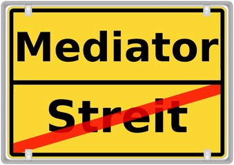 Mediator vs. Streit