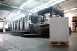 Leinwanddruck Bild - Press printing - Offset machine