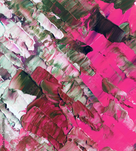Abstract background, oil paints - 33987066