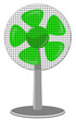 fan Green dot Panel