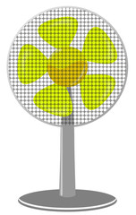 fan Yellow dot Panel