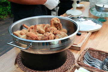 fried mushrooms in a pan
