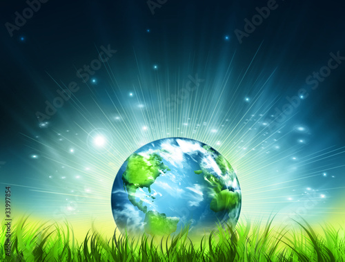 Symbol of environmental protection