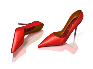 Red High Heels ...wow!