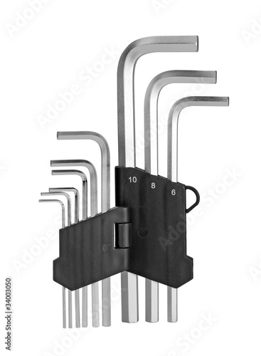 Hex Key Set.