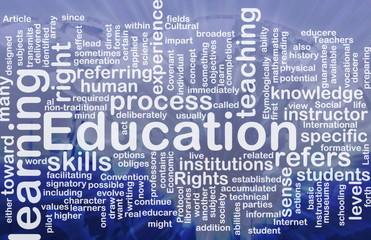 Education background concept