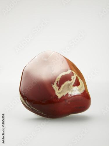 Red Jasper, tumbled stone