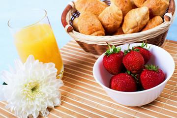 Early breakfast.