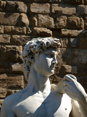 Florence - statue of David by Michaelangelo.