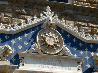 Florence - Palazzo Vecchio. Main entrance.