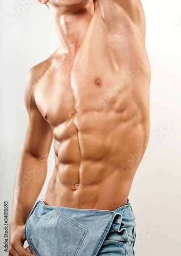 Torso with six-pack