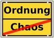 Ordnung vs. Chaos