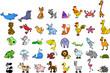 набор иконок животных