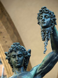 Florence - Perseus holding the head of Medusa by Cellini. poster