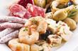 Antipasto mit Meeresfrüchten