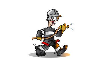 pompier feu