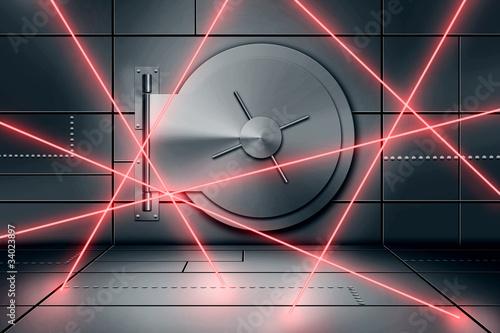 Leinwandbild Motiv Vault