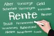 Rente - Vorsorge für den Ruhestand