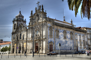 Carmelitas and Carmo Church, Porto, Portugal.