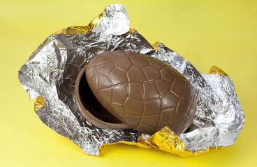 Chocolate Easter Egg Shells