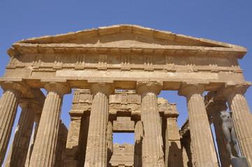 Templo de sicilia, Italia